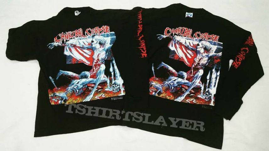Cannibal Corpse 1992 Tomb of the Mutilated TShirt And Longsleeve