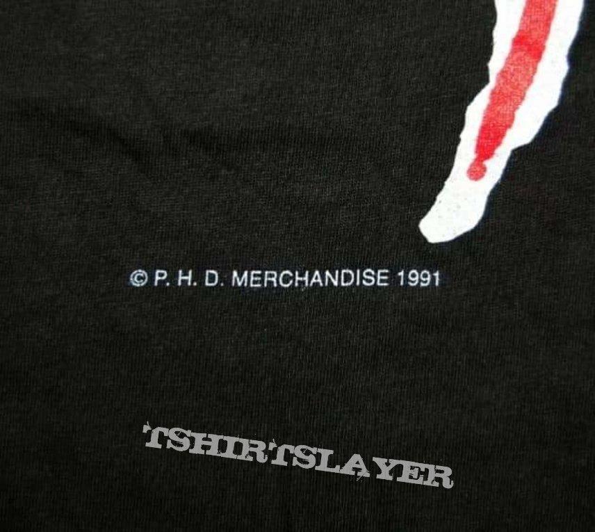 """Nos Vtg.1991 Master """"The legend is Back"""" LS Shirt by Original Plastic Head Distribution UK"""