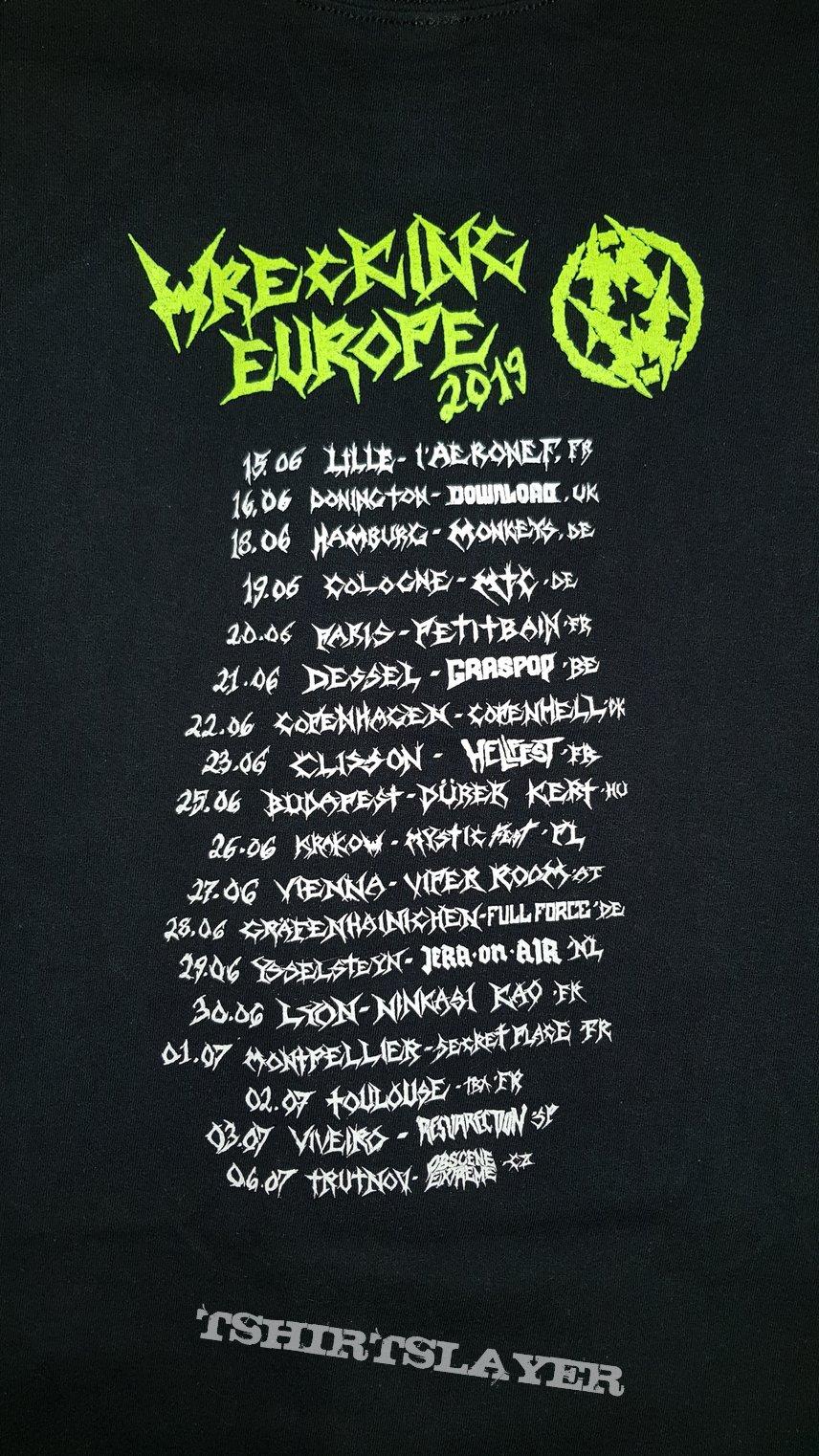 Tour Shirt Europe 2019