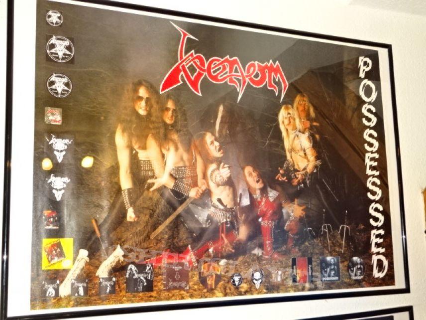 "Venom ""Possessed"" 1985 (Poster)"