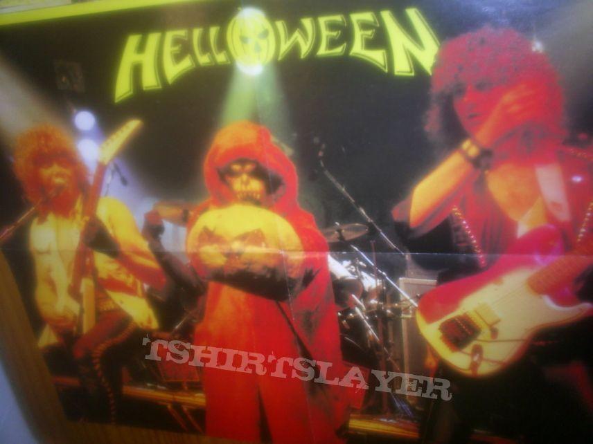 Helloween band mask 1984/1985