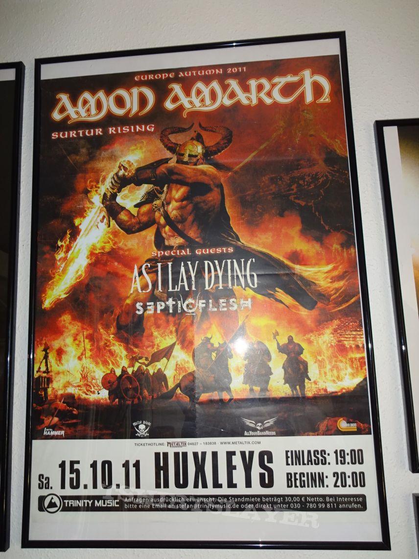 """Amon Amarth """"Surtur Rising - Europe autumn 2011"""" (Poster)"""