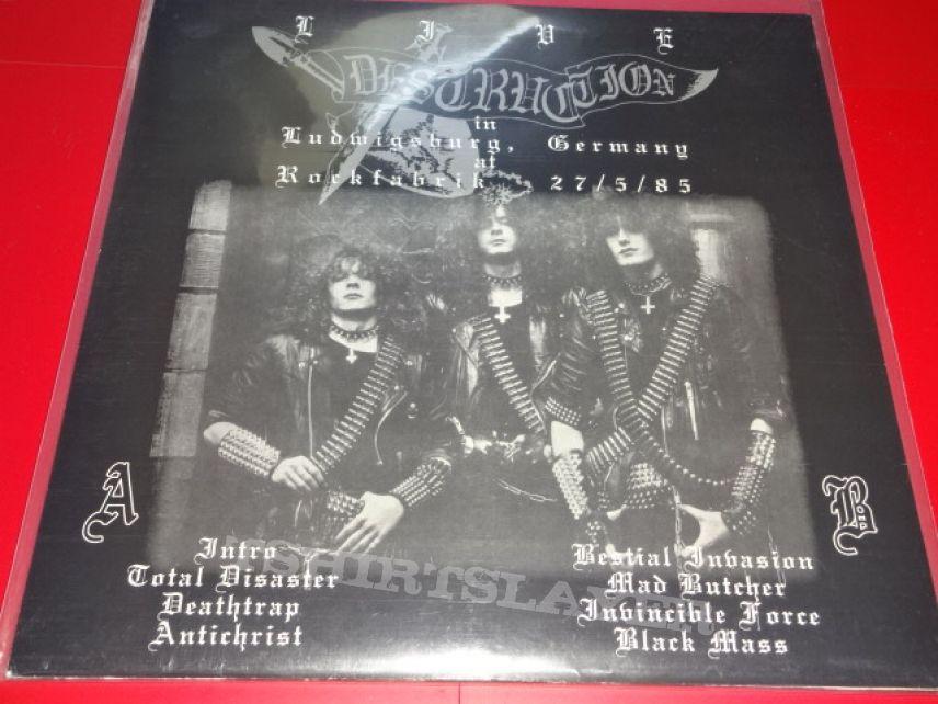 """Destruction """"Invincible Invasion"""" Live 1985 (Vinyl)"""