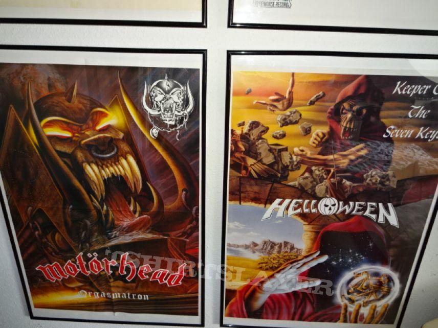 """Motörhead """"Orgasmatron Tour ´86"""" Rare Poster"""