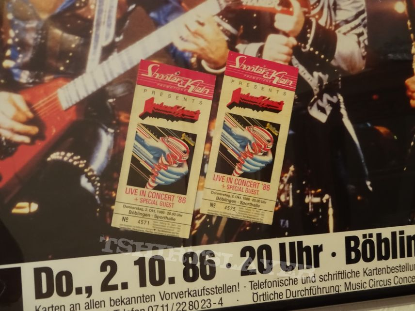 """Judas Priest """"Turbo - Live in Concert ´86"""" Poster & Tickets"""