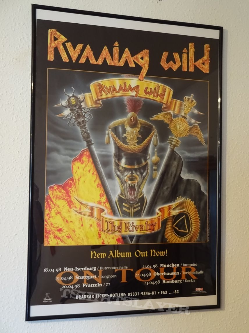 "Running Wild ""The Rivalry Tour 1998"" (Poster)"