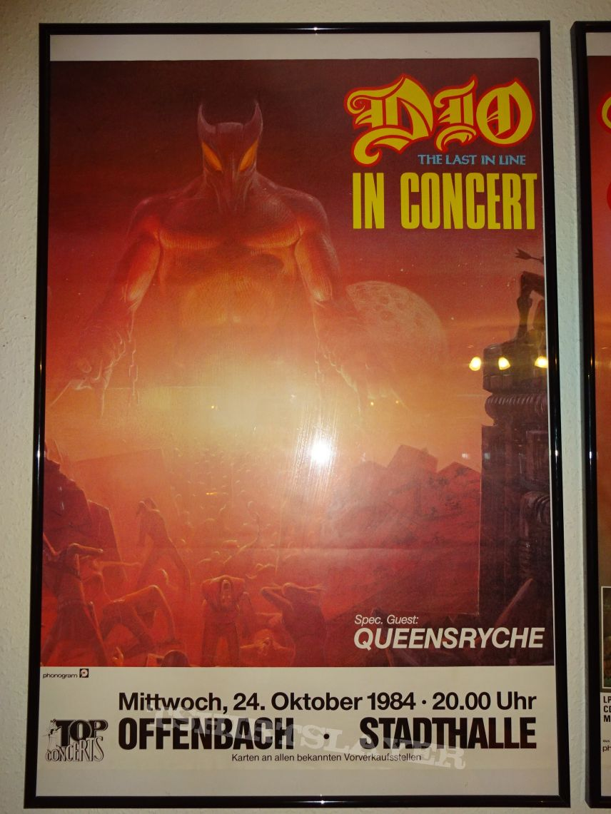 "DIO ""The last in line in concert"" Germany (Poster)"