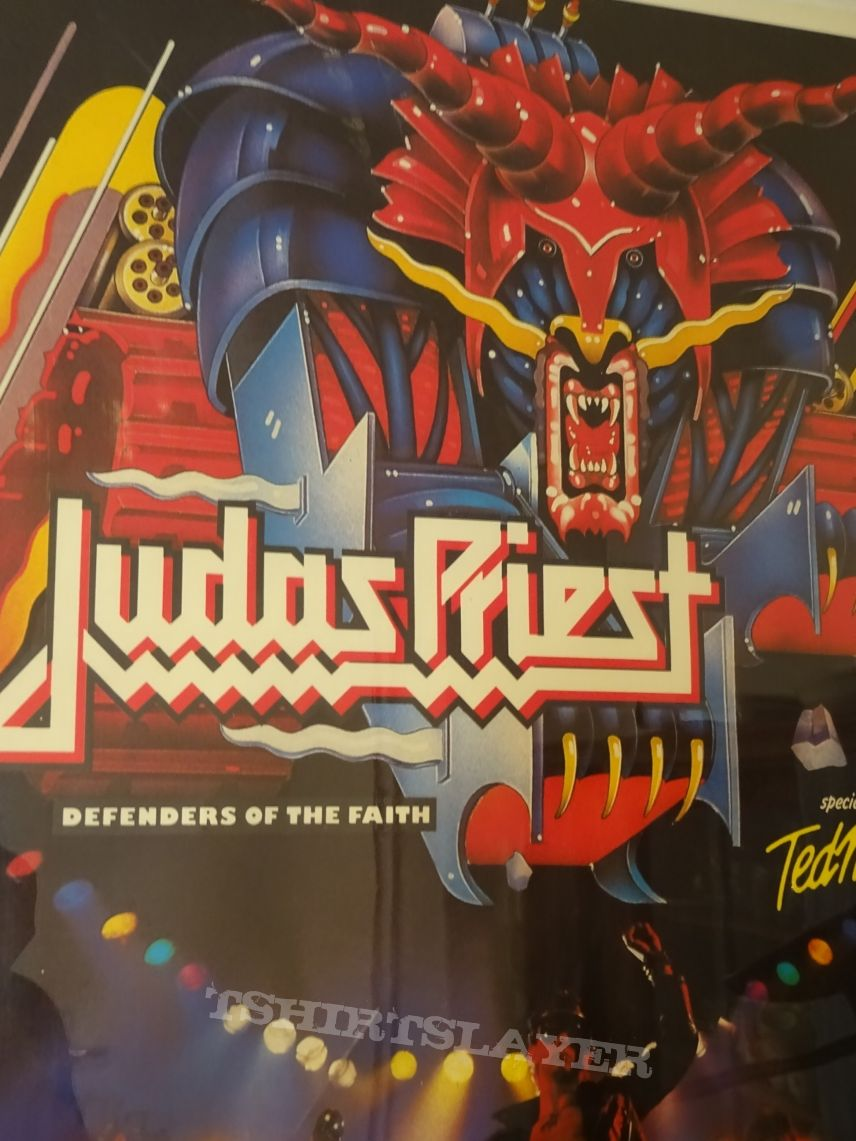 "JUDAS PRIEST ""Live over Europe 1984"" (Poster)"