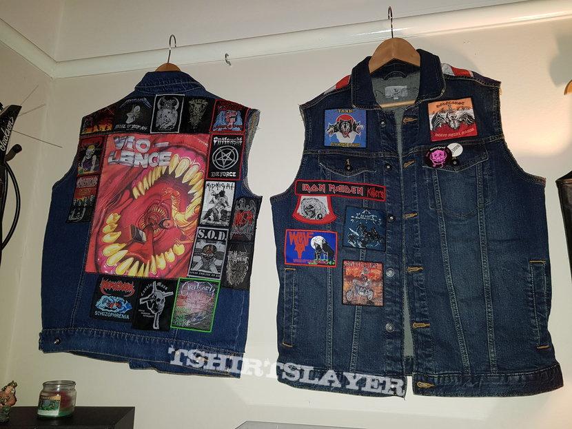 My WIP Vests