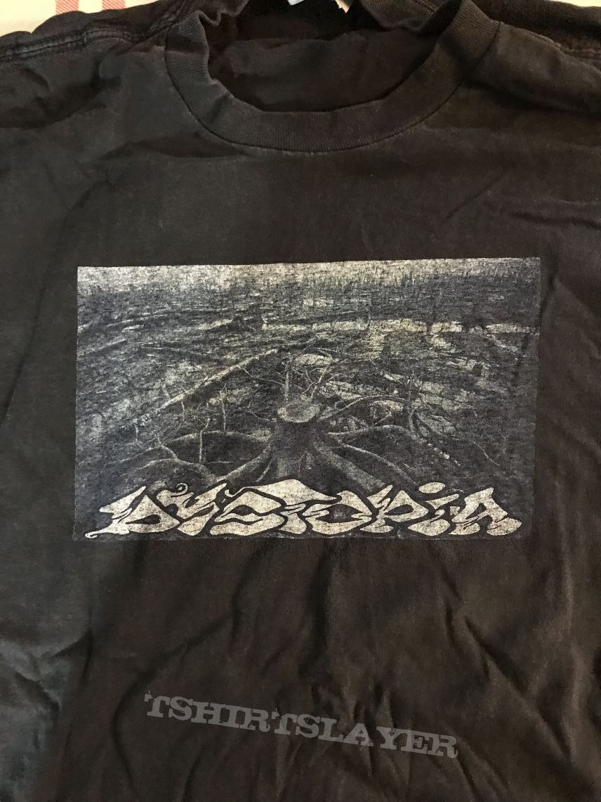 Dystopia deforestation shirt.
