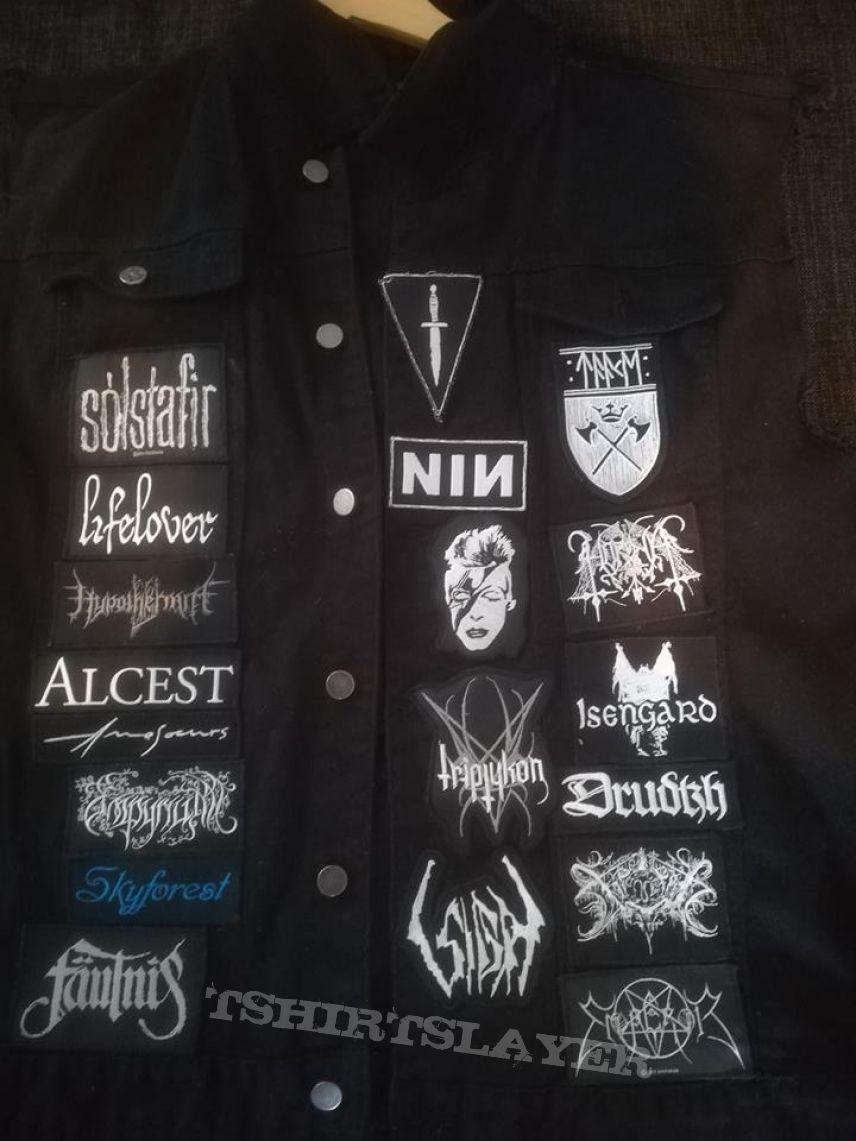 """Kutte (""""battle jacket"""")"""