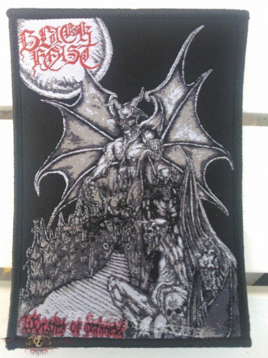 Patch - Black Feast - Worship Of Darkness patch