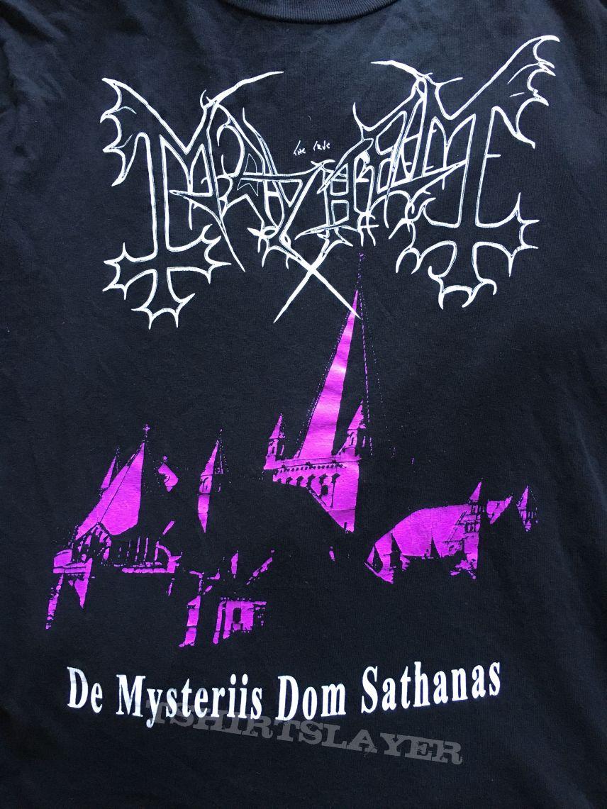 Mayhem - De Mysteriis Dom Sathanas Bootleg Tshirt