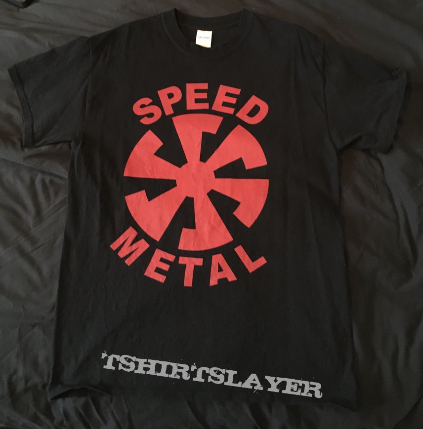 Banzai Records - Speed Metal Swirl logo