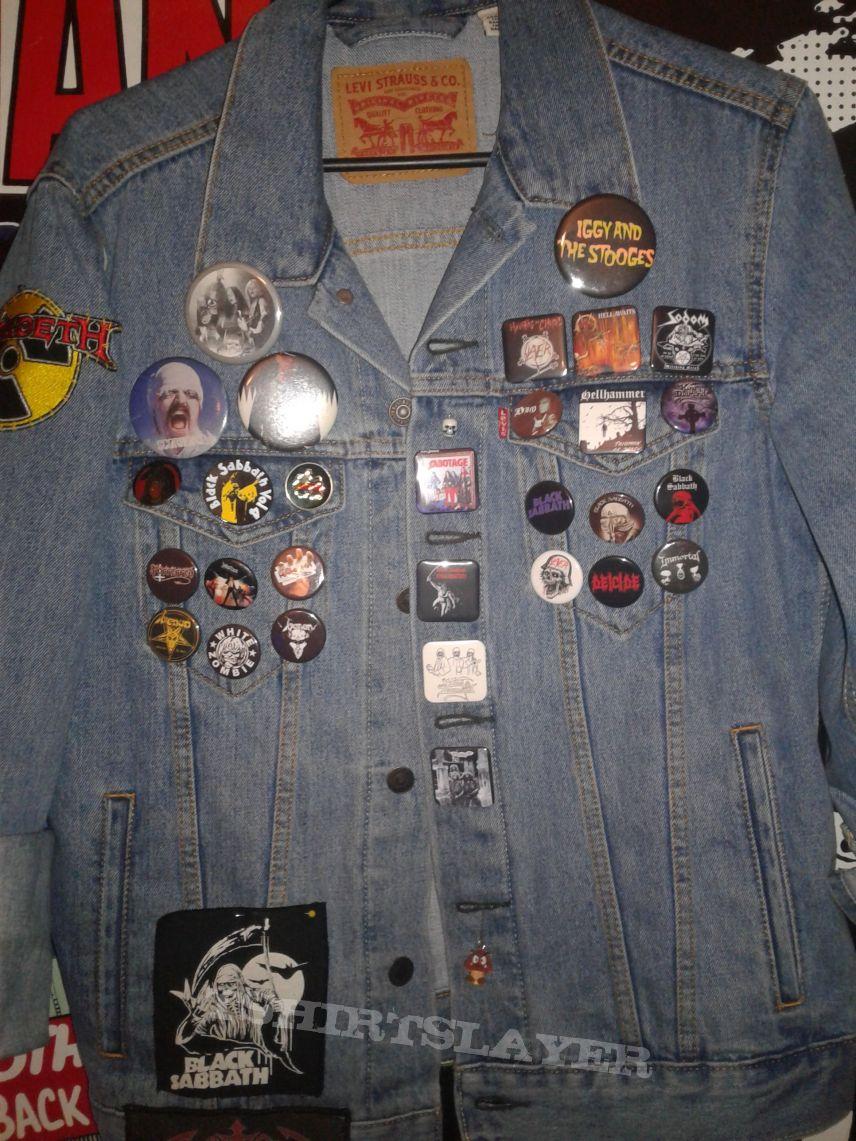 My Denim Battlejacket (still in progress)