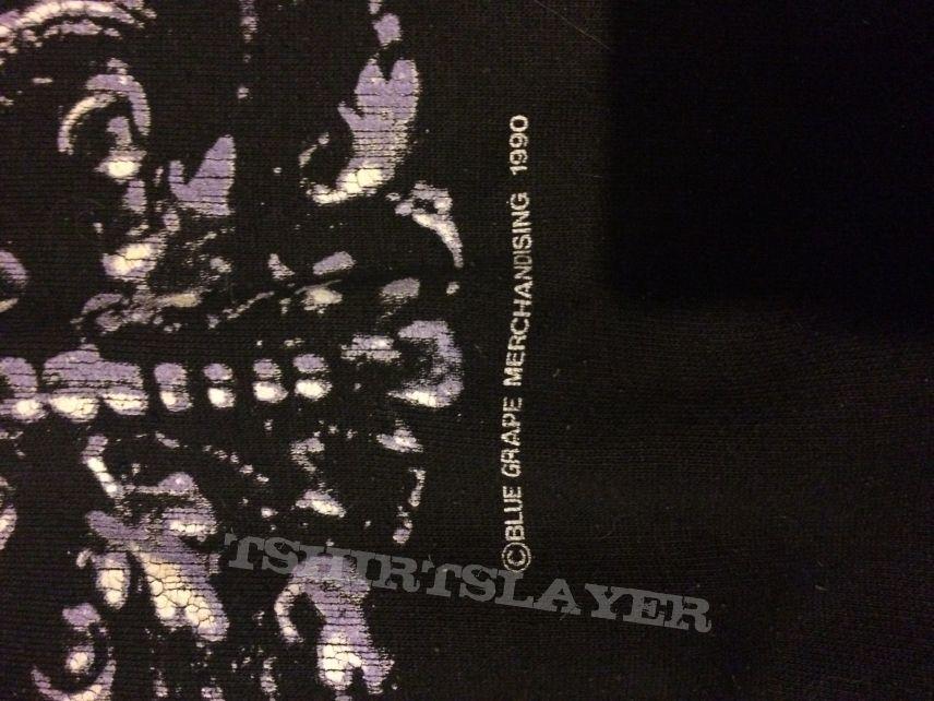 Deicide 1990 Blue Grape Sweatshirt