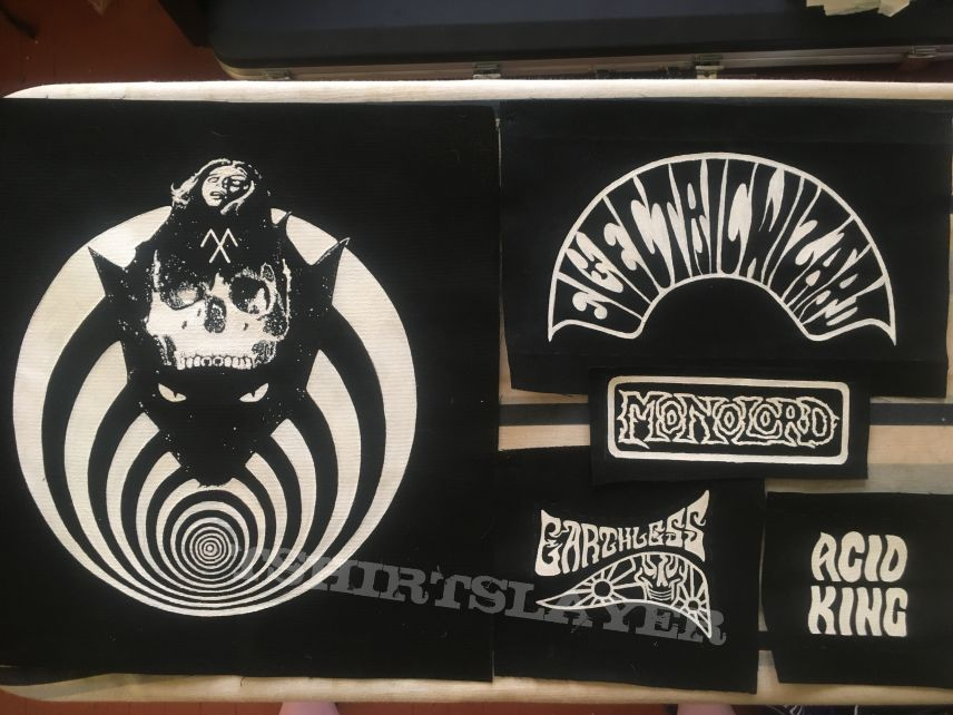 Handpainted band patches update