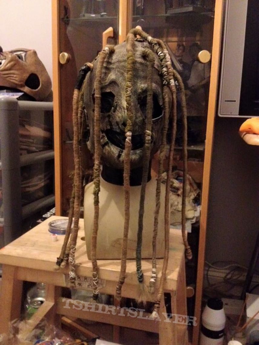 how to make a slipknot mask corey taylor