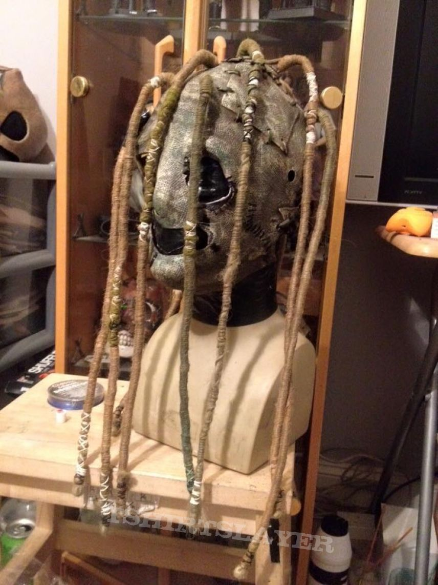 Original Slipknot Corey Taylor ghost glow mask converted