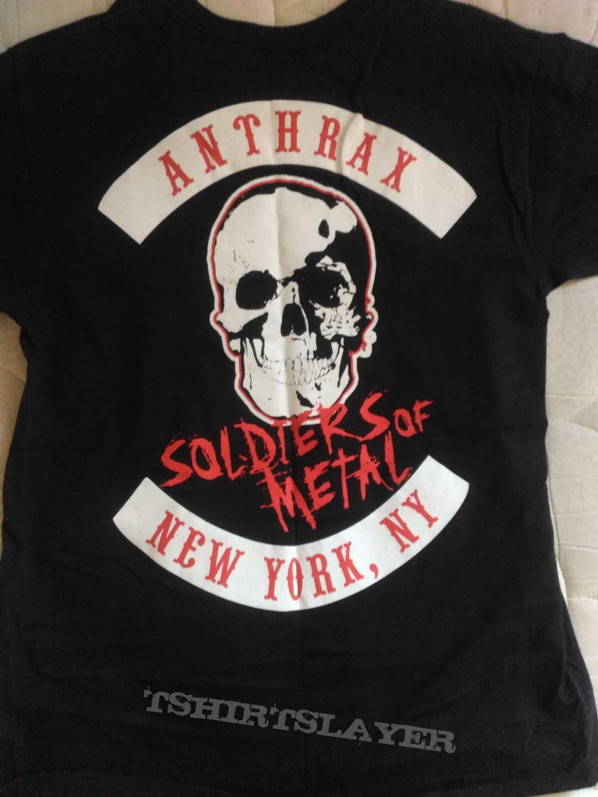 Anthrax - Fistful Metal Official T Shirt