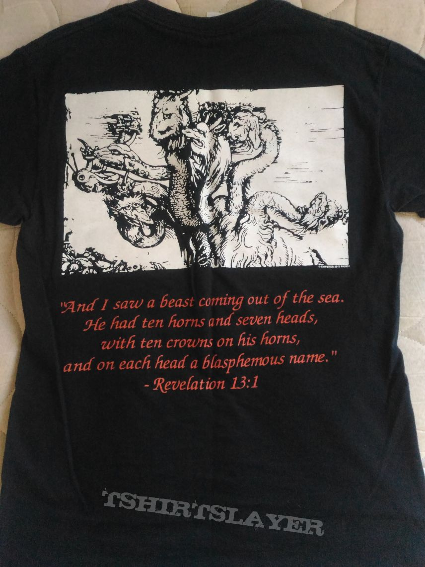 Emperor - Wrath Of The Tyrant Official T-Shirt