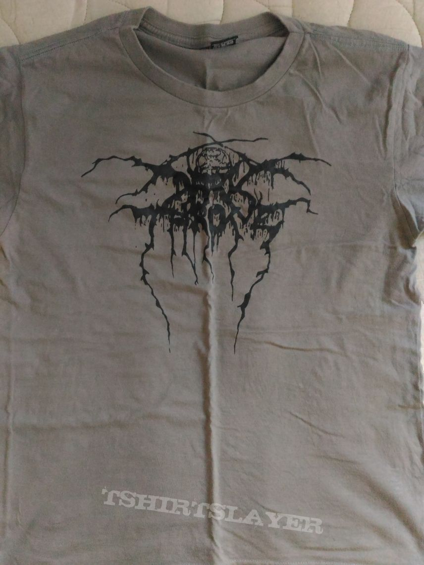 Darkthrone Logo Grey T-Shirt