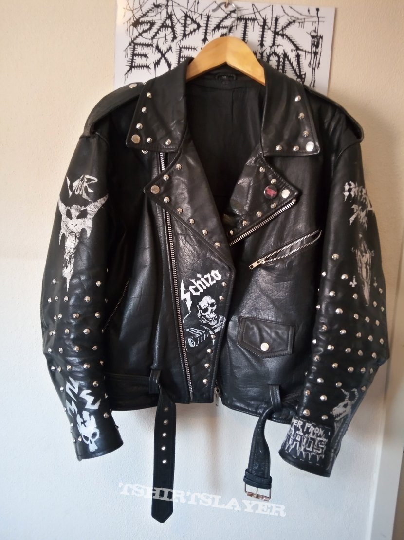 The return of the Disgusting and Rotting denim and leather