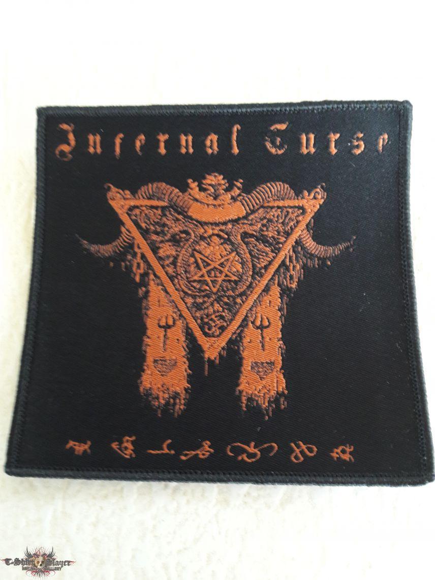 Infernal Curse Woven Patch