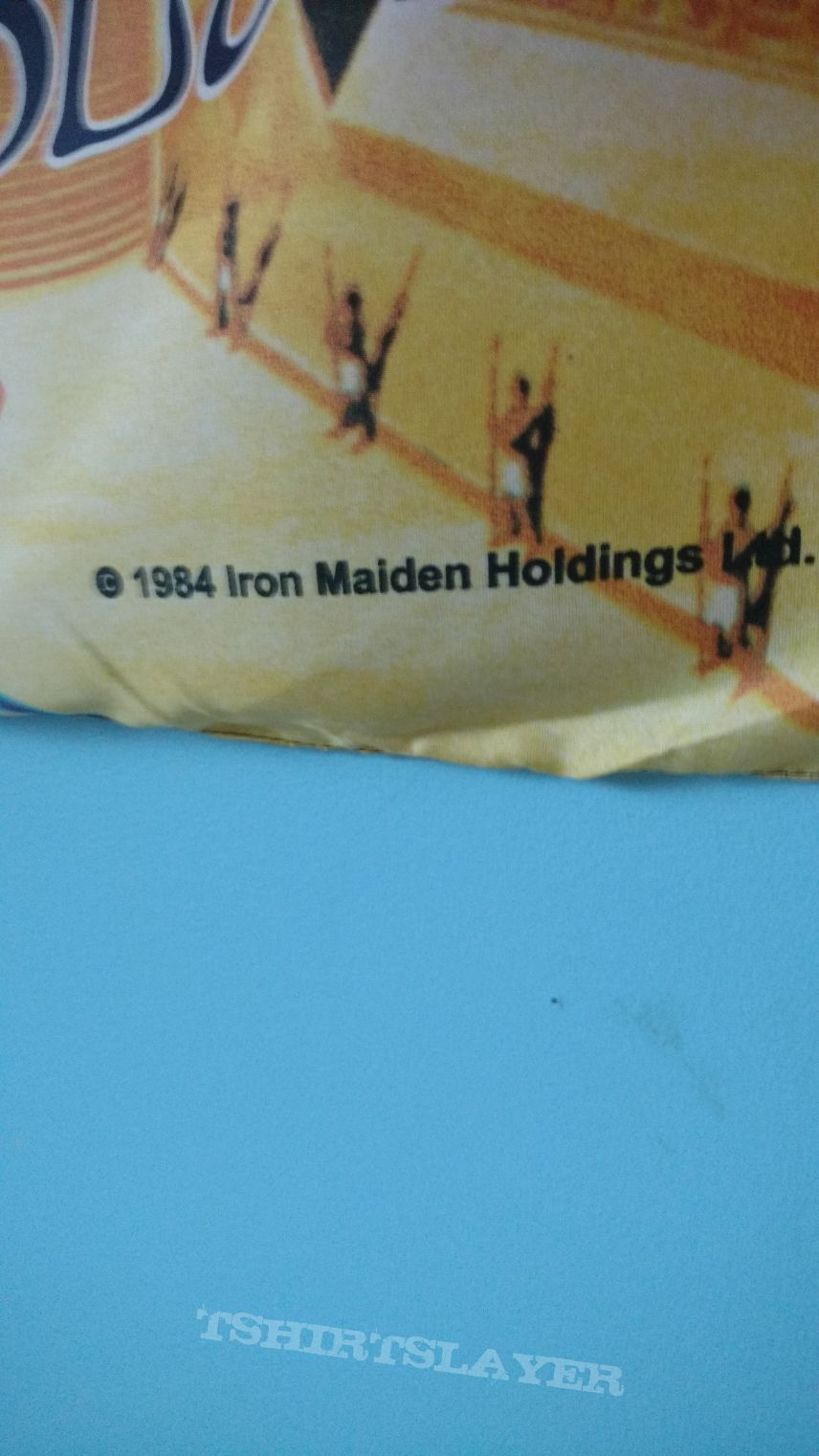 Original Iron Maiden powerslave flag