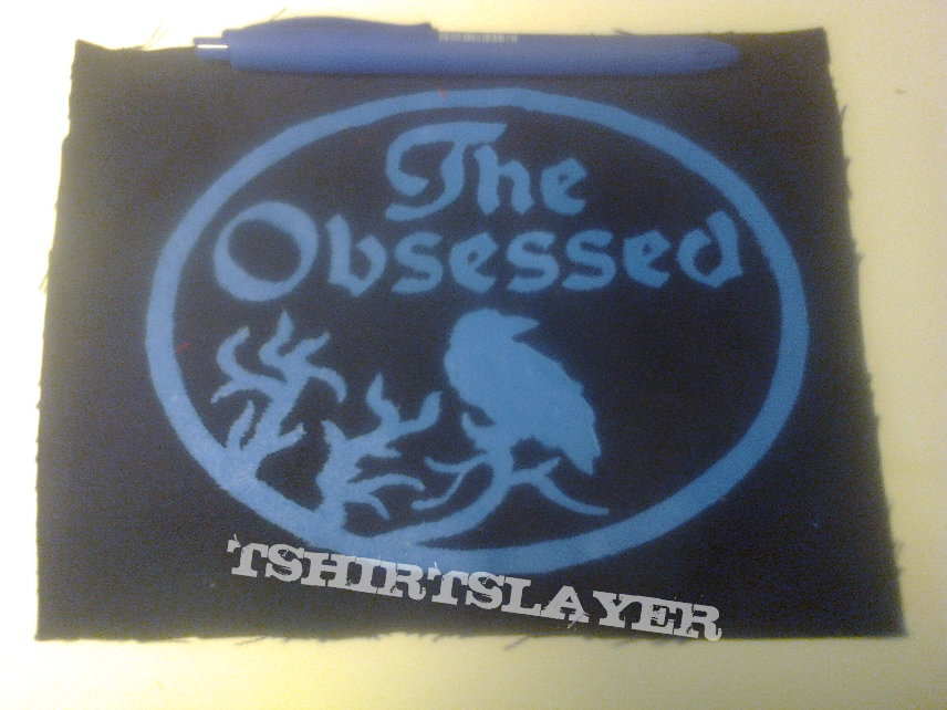 d.i.y. hand painted the obsessed patch