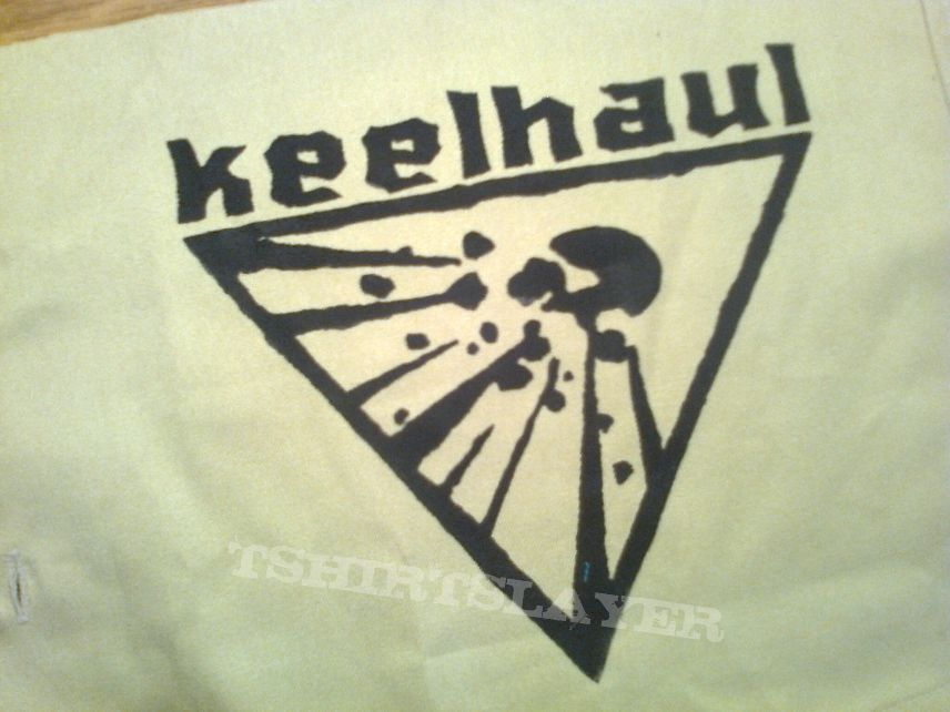 d.i.y. hand painted keelhaul patch