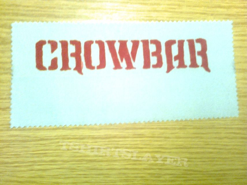 d.i.y. hand painted crowbar patch