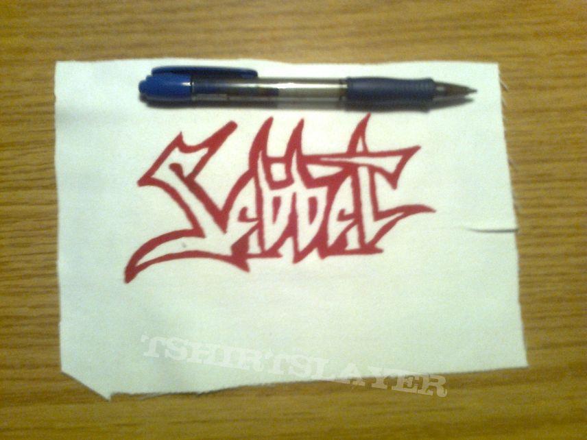 d.i.y. hand painted sabbat patch