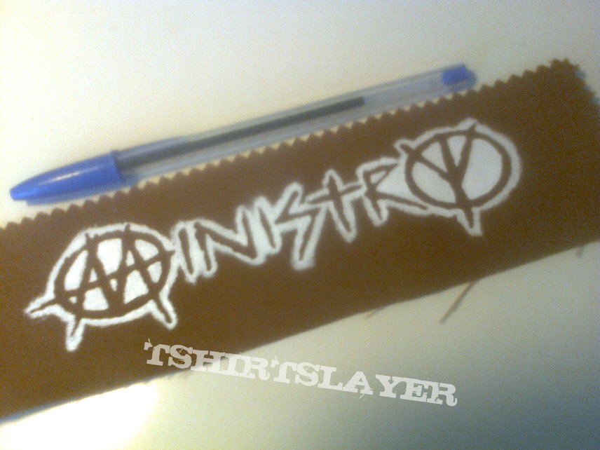 d.i.y. hand painted ministry patch