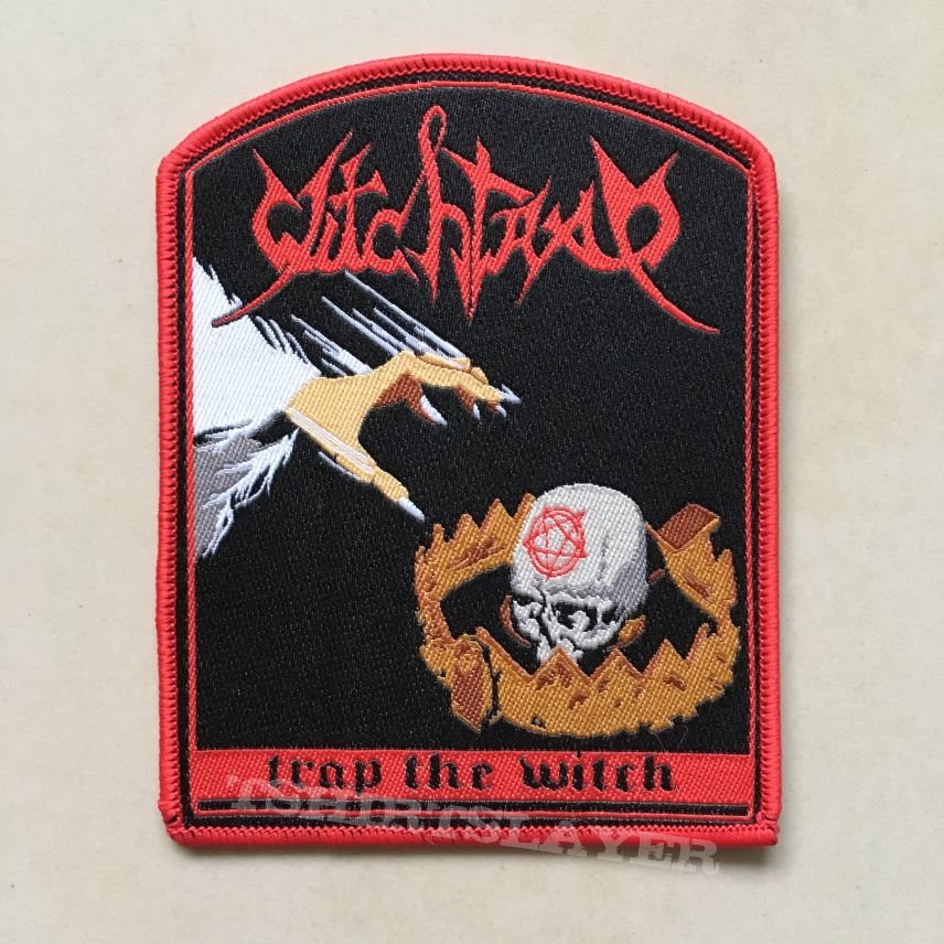 Witchtrap - Trap The Witch Patch (red border)