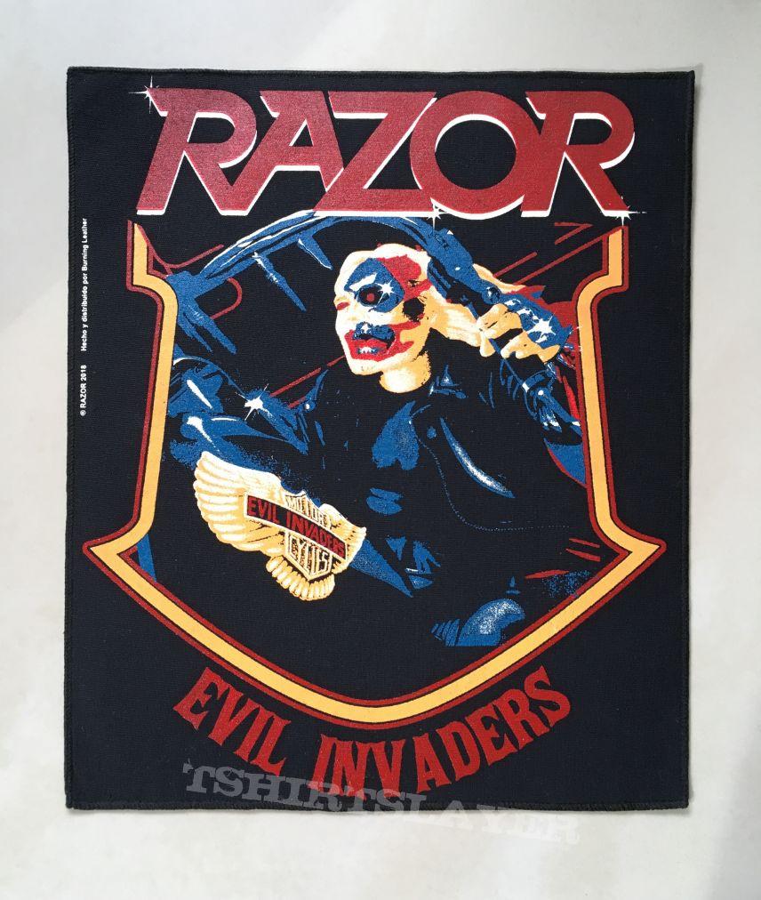 Razor - Evil Invaders Backpatch