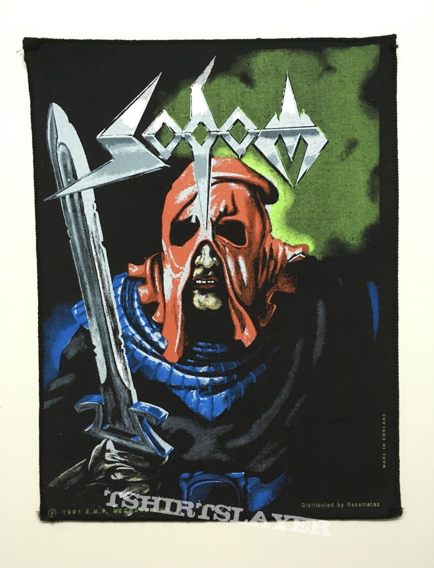 Sodom - In the Sign of Evil backpatch