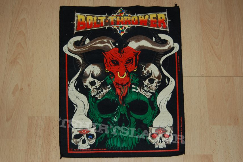 BOLT THROWER Backpatch - good condition
