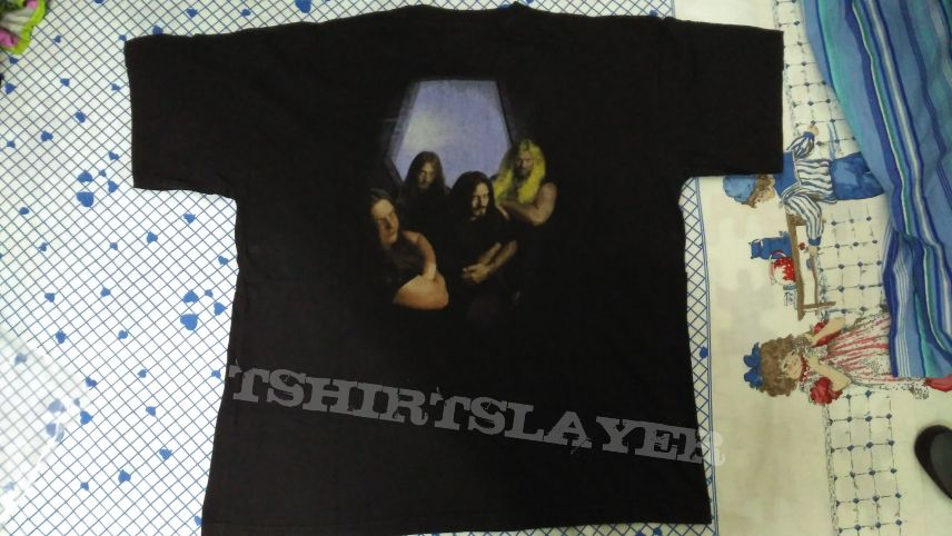 Deicide - Serpents Of The Light Cross RARE ORIGINAL BLUE GRAPE 1997