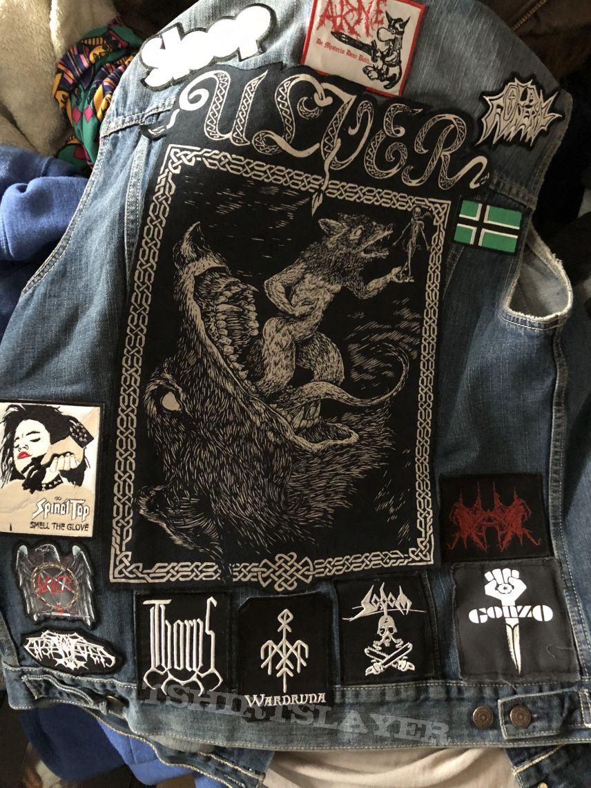 Battle Vest in progress