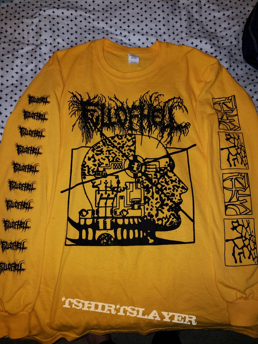 Full of Hell yellow LS