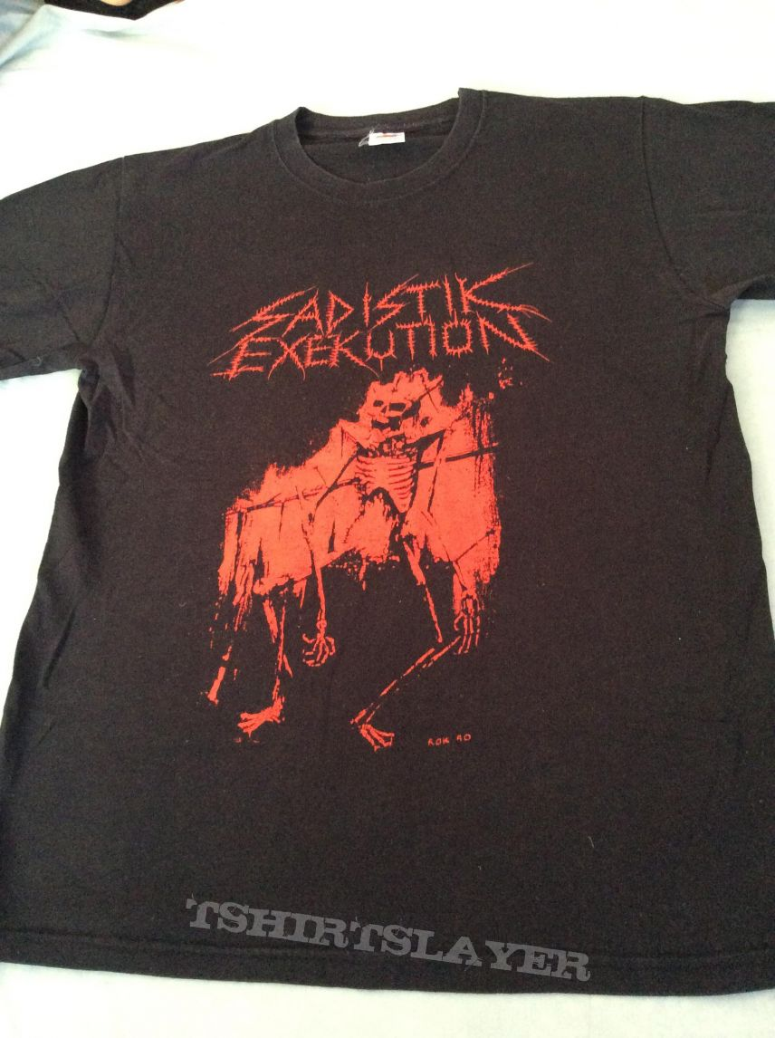 Sadistik Exekution 2 sided M size tshirt