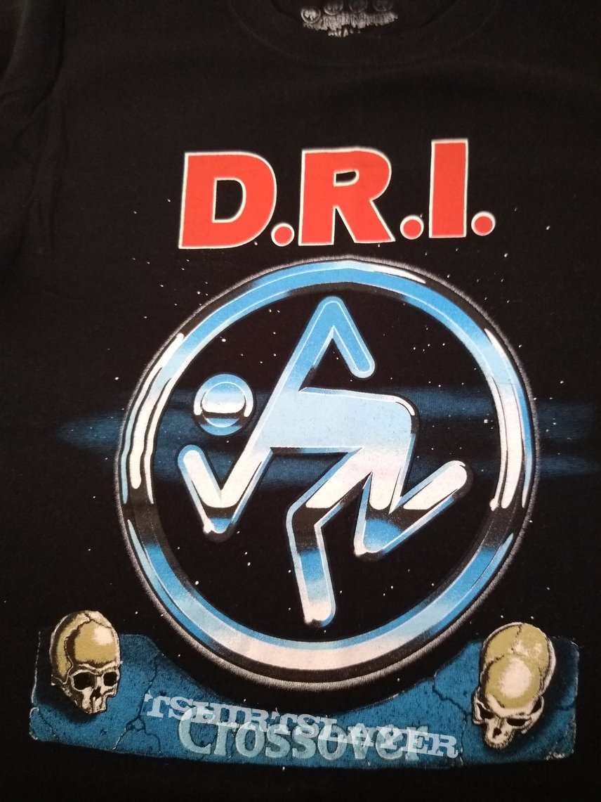 D.R.I. Crossover S size tshirt