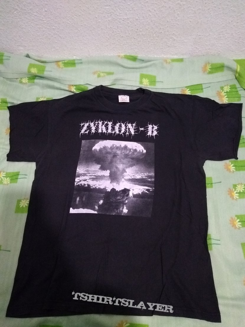 Zyklon-B Blood Must Be Shed 2 sided XL size tshirt