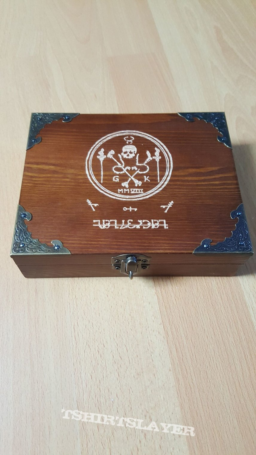 Grave Upheaval ‎– Untitled + Unreleased Instrumental Rehearsal Demo   wooden box  Limited to 200