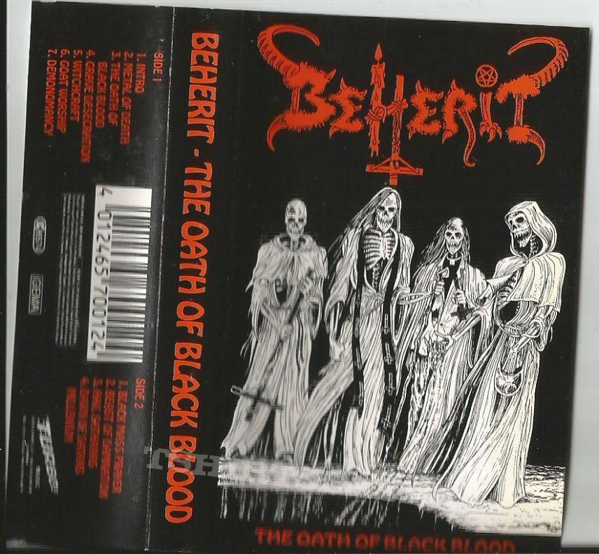 Beherit – The Oath Of Black Blood ,  Turbo Music 1991