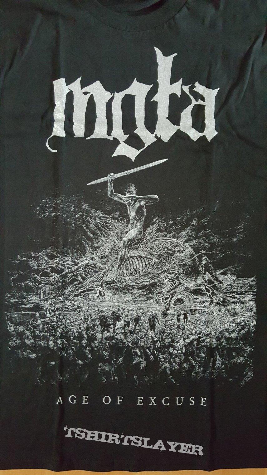 T-Shirt \m//-\m// MGLA Age of Excuse