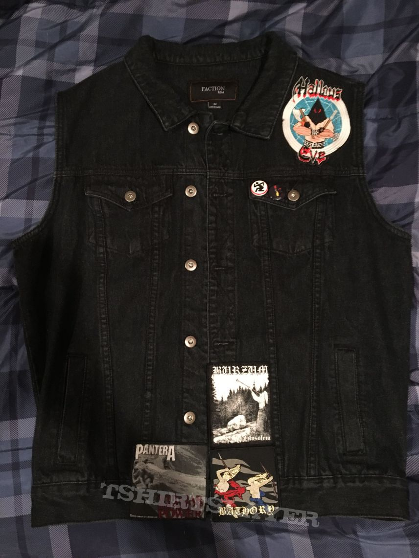 New patches added to 2nd vest