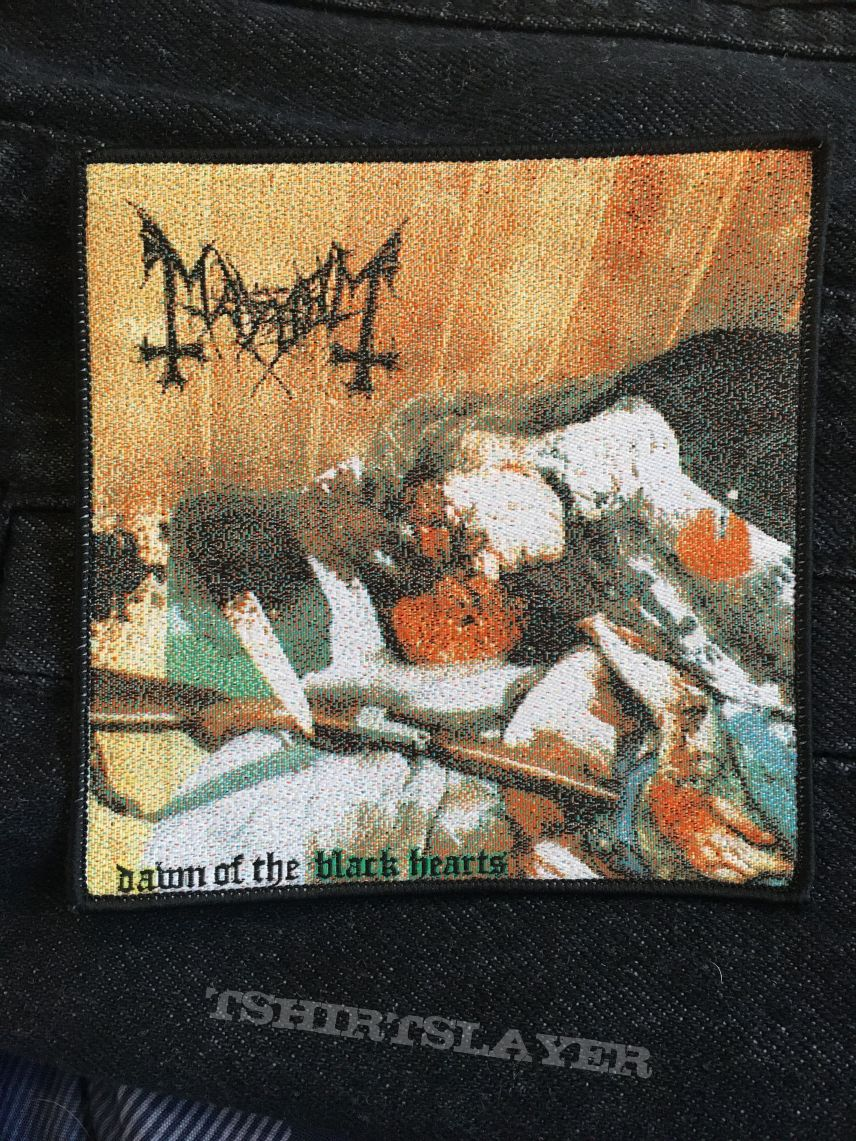 Mayhem Dawn of the black hearts patch