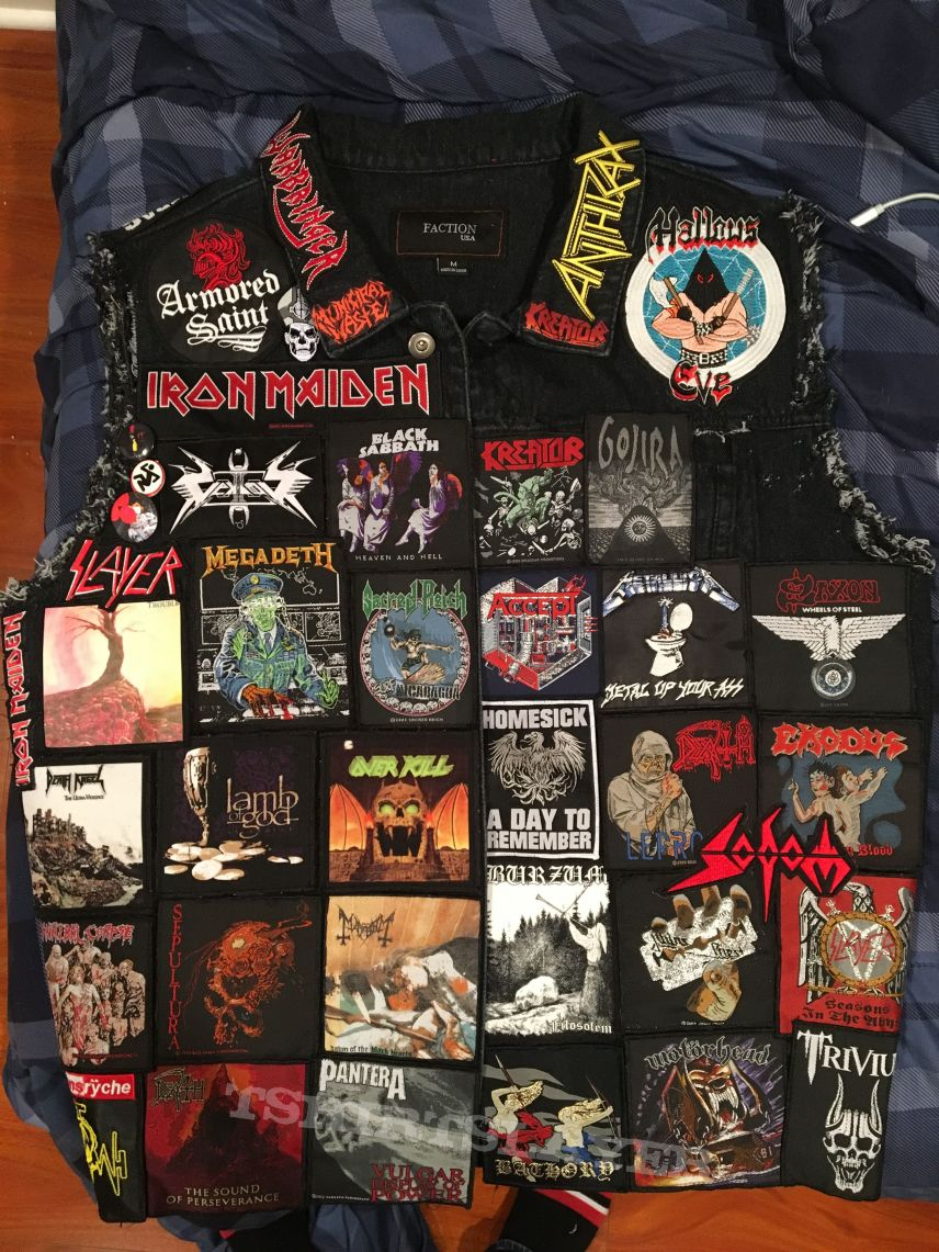 Second vest almost completed